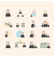 Business solution vector image