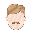avatar man icon vector image