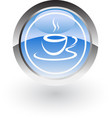 coffe hot icon logo vector image