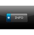 Info Button vector image