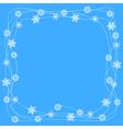 snow ornament vector image
