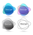 Abstract logo design element vector image