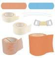 First Aid Kit - Bandages vector image