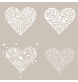 Heart design an element3 vector image vector image