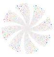 medic fireworks swirl rotation vector image