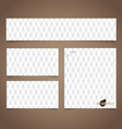 Note papers ready for your message vector image vector image