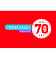 Sale Sign Banner Poster ready for Web and Print vector image
