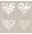 Heart design an element3 vector image