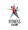 logo for fitness vector image