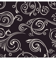 Seamless curves wallpaper Vintage vector image vector image