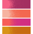 spray paint gradient detail in pink orange vector image