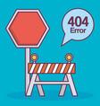 error 404 design vector image