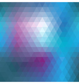 Blue mosaic seamless vector image vector image