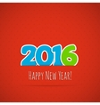 New year background vector image
