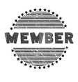 member vector image