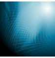 Dark blue abstract background vector image vector image
