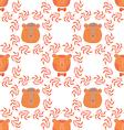 Bear pattern7 vector image