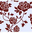 Roses tile vector image