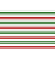 Red Green White Stripes Background vector image