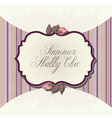 shabby chic background vector image