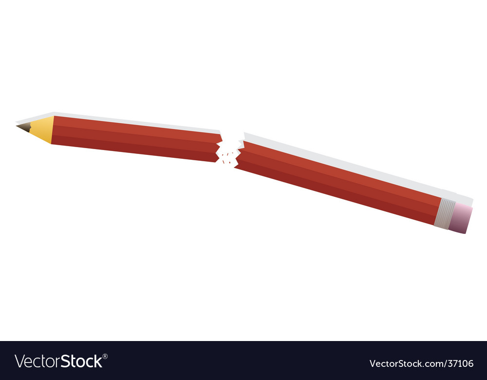Pencil anger vector