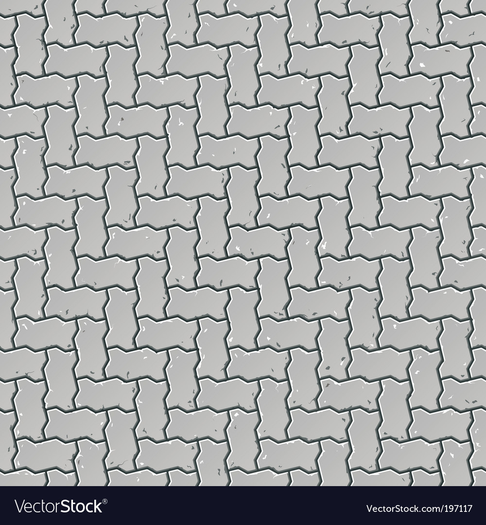 Pavement pattern vector