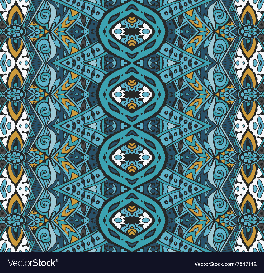 Seamless colorful geometric print vector