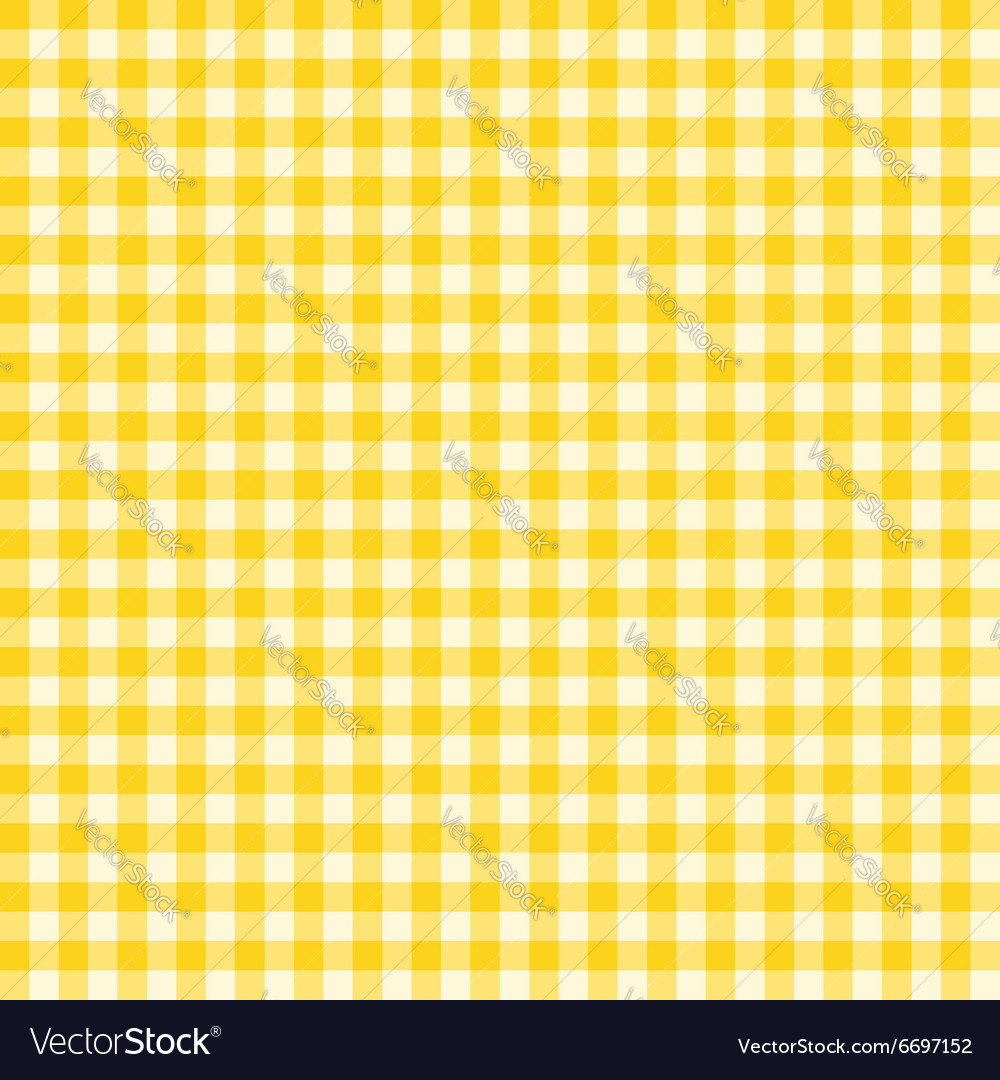 Classic gingham pattern vector