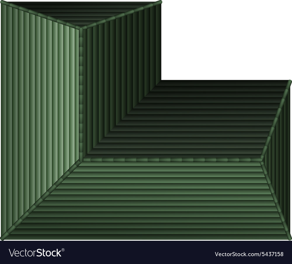 Bm house roof 14 vector