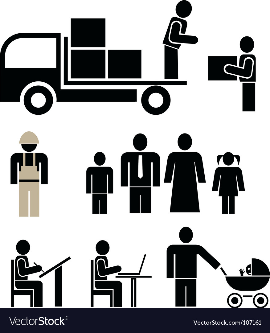 Pictograms vector