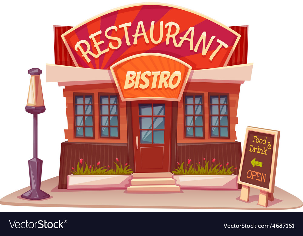 Restaurant and bistro vector