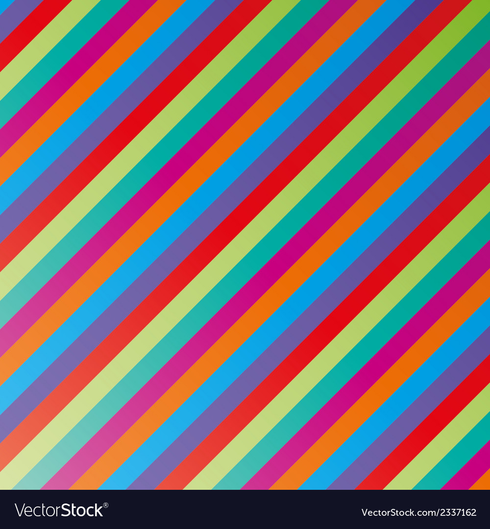 Color lines vector