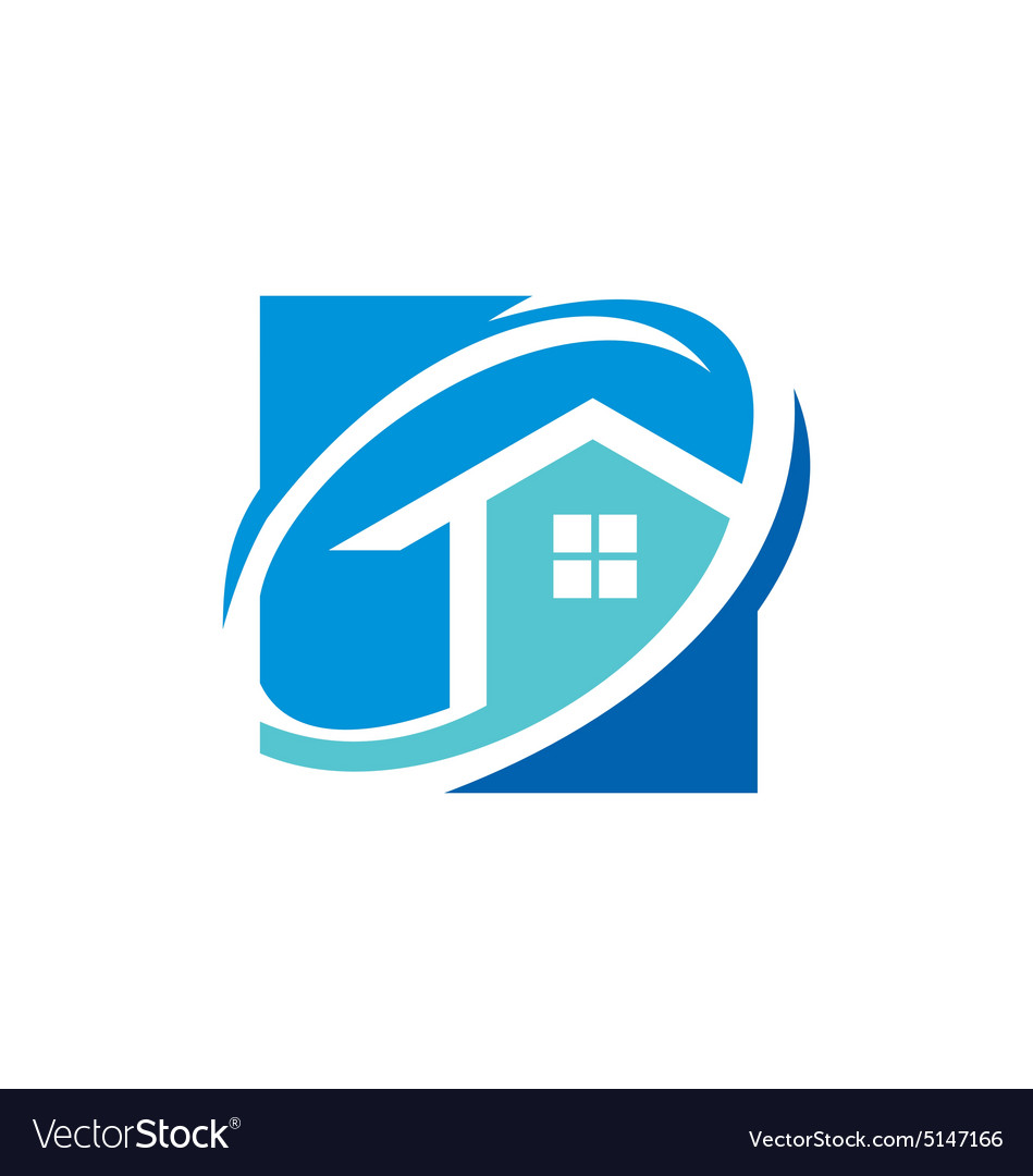 House realty icon logo vector