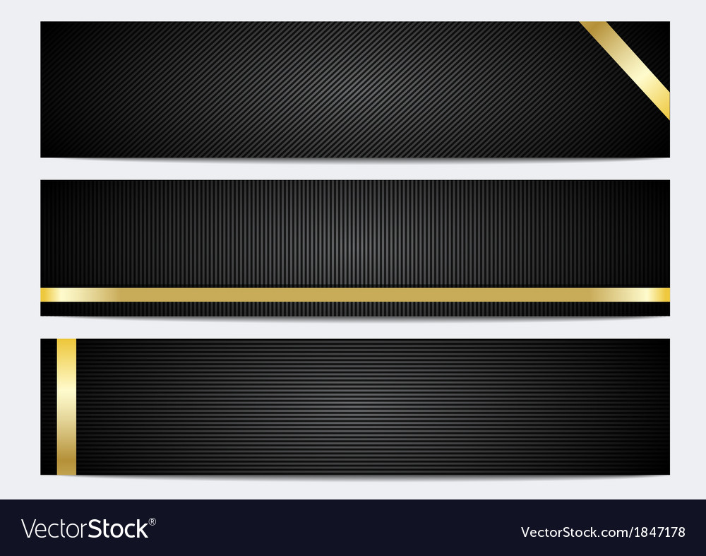 Banner and header backgrounds vector