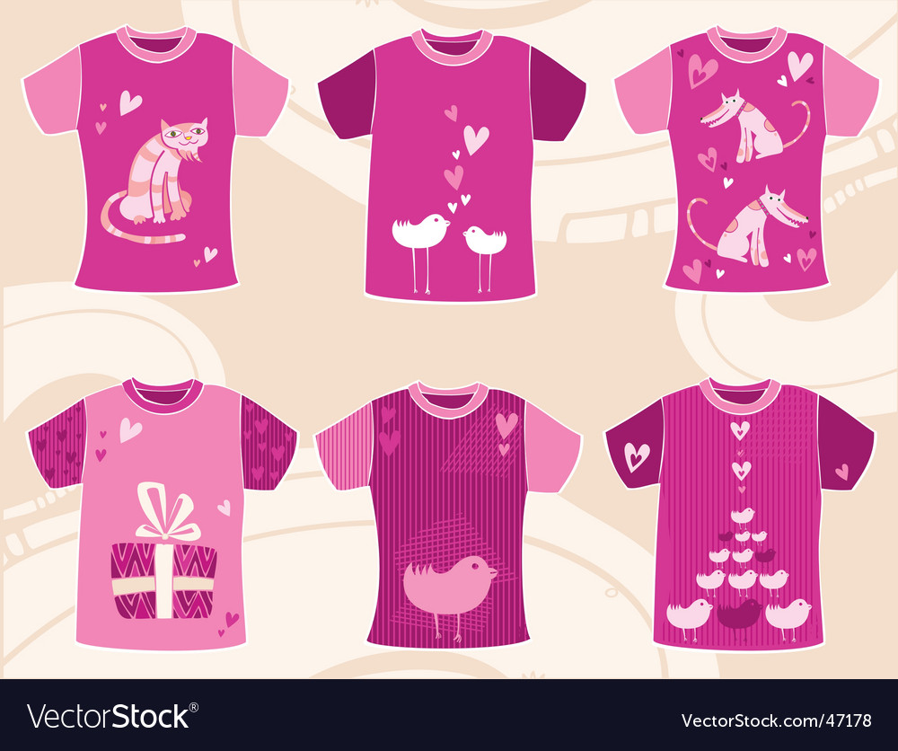 Valentines day t shirts design vector