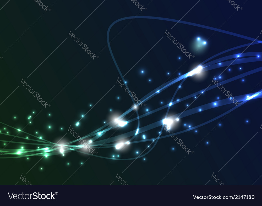 Transparent swoosh bright spark wave vector