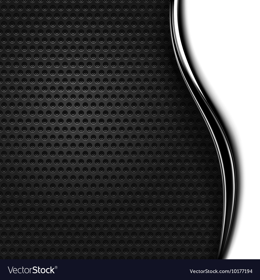 Metal texture perforated background vector