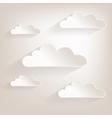 Cloud2 vector image