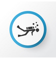 diving icon symbol premium quality isolated scuba vector image