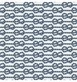 marine knot seamless pattern vector image