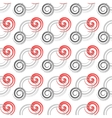 Seamless colored background with spirals vector image