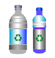 glossy plastic pets vector image