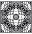 grey ornamental floral paisley bandanna vector image vector image