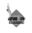 classic style cigars since 1897 isolated vector image