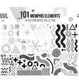 Mega set of design elements vector image
