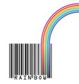 UPC Rainbow vector image