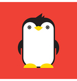 Penguin vector image