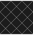 Grid Diamond Square Gray Black Background vector image