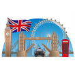 london town vector image