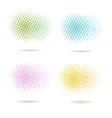 Spotted pattern backgrounds vector image vector image